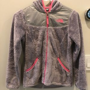 Girls North Face Hoodie